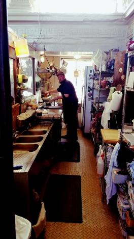 Chef Jim, hard at work!